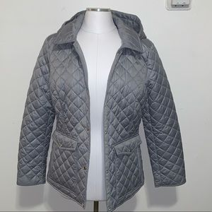 Laundry by Shelly Segal lightweight quilted jacket